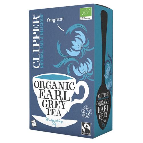 Clipper Earl Grey te Økologisk - 20 breve