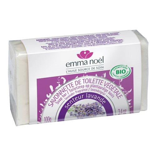 Lavendel sæbe Økologisk Emma Noel - 100 gram