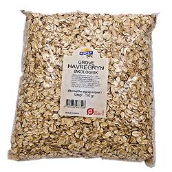 Image of   Havregryn grove Økologiske fra Rømer - 750 gram