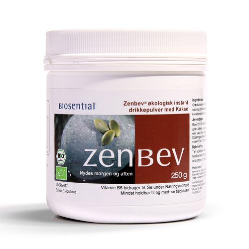 Zenbev Græskarkernepulver med kakao - 250 gram