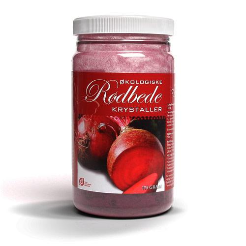 Rødbede Krystaller Økologiske - 175 gram