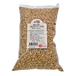 Image of Brune korte grødris økologiske - 1 kg.