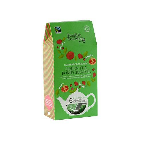 Green Tea Pomegranate Øko ETS - 16 breve