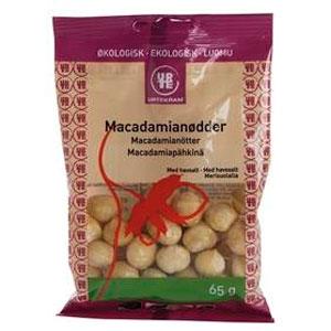 Image of Macadamianødder med havsalt Øko - 65 gram