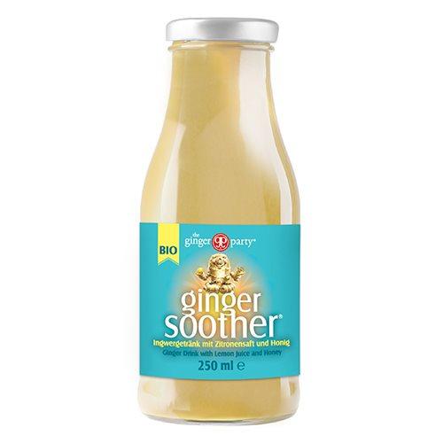 Ingefærdrik med citron & honning Øko - 250 ml.