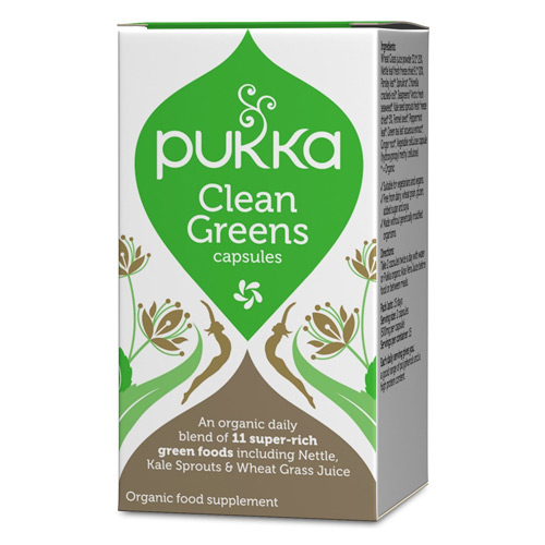 Image of   Pukka Clean Greens Økologisk - 120 gram