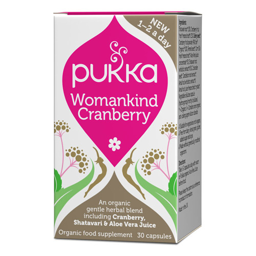 Image of   Pukka Womankind cranberry Øko - 30 kaps.