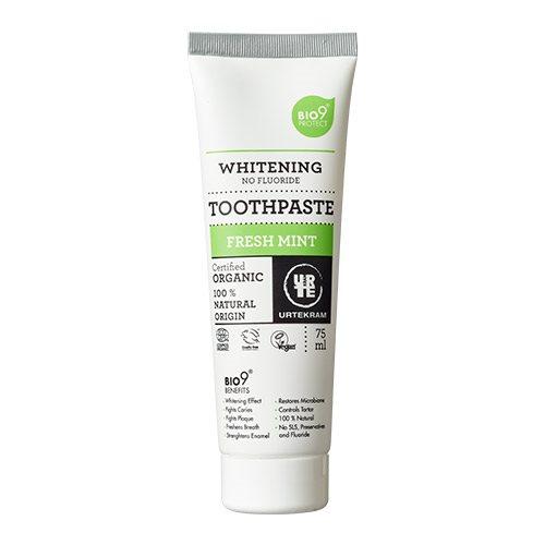 Image of   Urtekram Bio9 tandpasta fresh mint (75 ml)