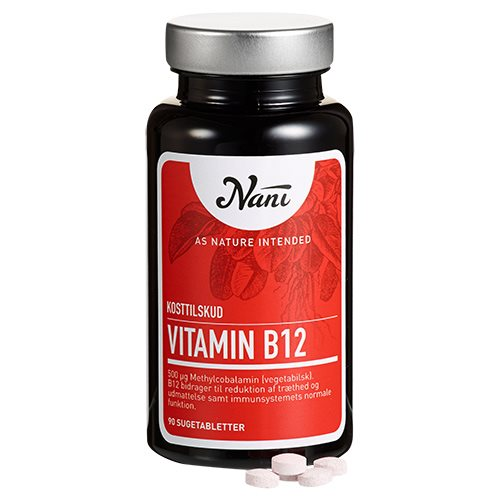 Image of   B12 vitamin food state fra Nani - 90 kapsler