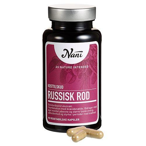 Russisk rod fra Nani - 90 kapsler