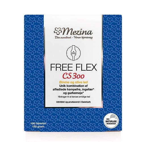 Billede af Mezina Free Flex CS300 (180 tab)