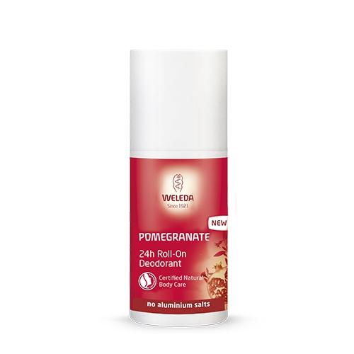 Image of   Pomegranate Deodorant roll-on Weleda - 50 ml.