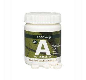 A vitamin 1500 mcg - 90 Tabletter