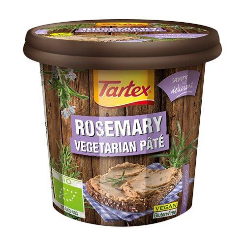 Tartex Paté med rosmarin Økologisk - 125 gram