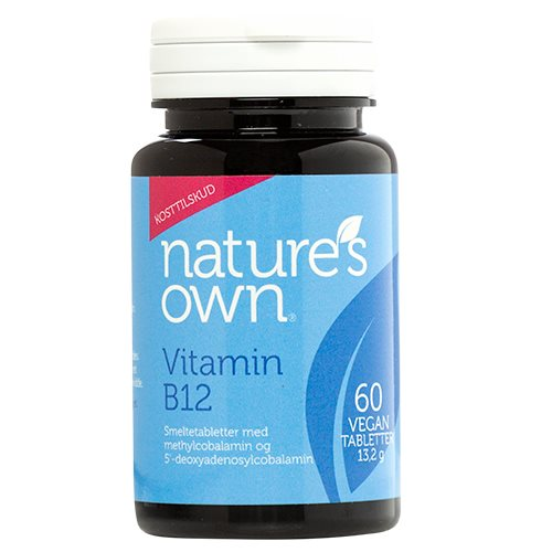 Image of   Vitamin B12 Vegan smeltetablet (60 tab.)