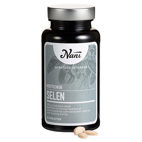 Image of Selen food state fra Nani - 90 tabletter