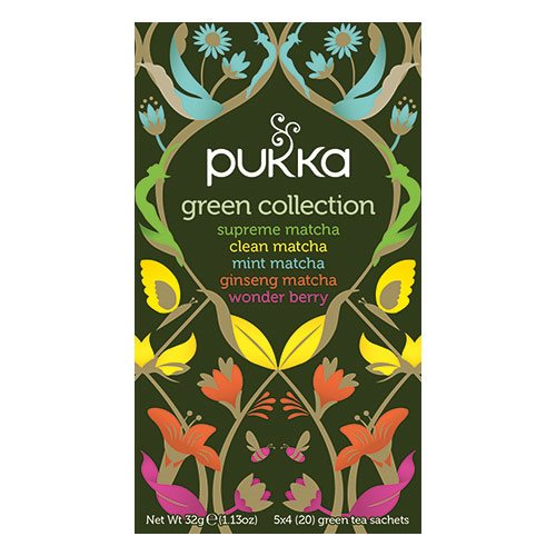 Image of Green Collection Pukka te - 20 breve