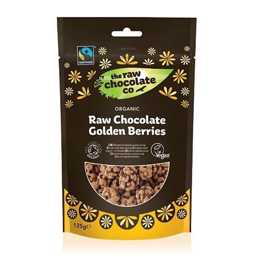 Incabær Med Rå Chokolade Golden Berries Øko