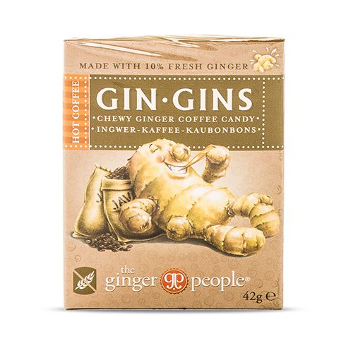 Image of   GIN-GINS Ingefærslik kaffe - 42 gram