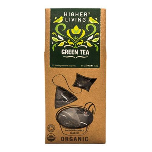 Grøn te Øko Higher Living - 15 breve