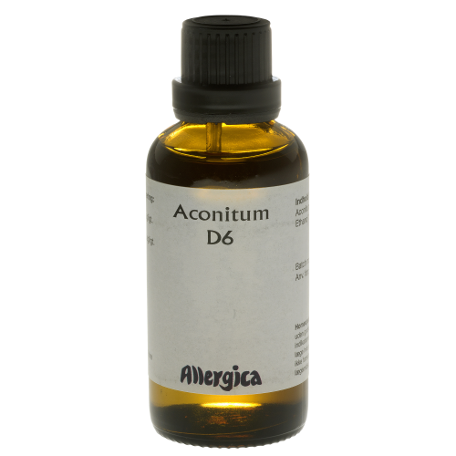 Image of   Aconitum D6 Allergica - 50 ml.