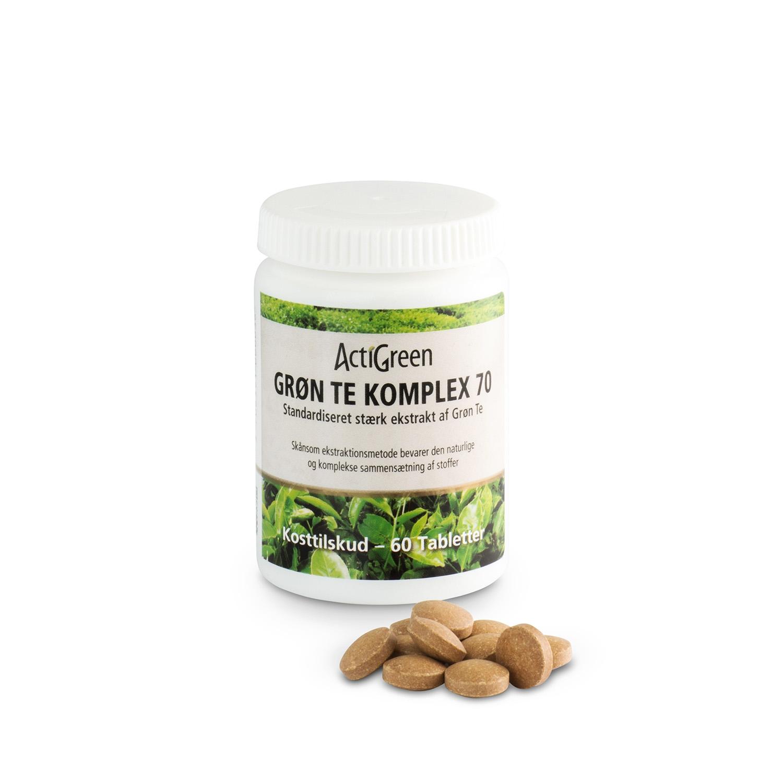 Grøn Te Komplex 70 - 60 tabletter