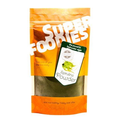 Spirulina pulver Super Foodies - 100 gram