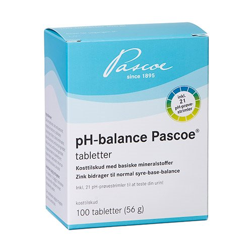 Image of   Pascoe pH-balance tabletter (100 tab)