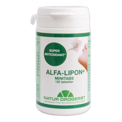 Image of Alfa-Lipon+ minitabs fra Natur Drogeriet - 120 tbl