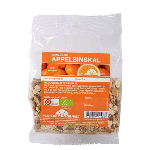 Image of   Appelsinskal sød skåret Økologisk - 80 gram