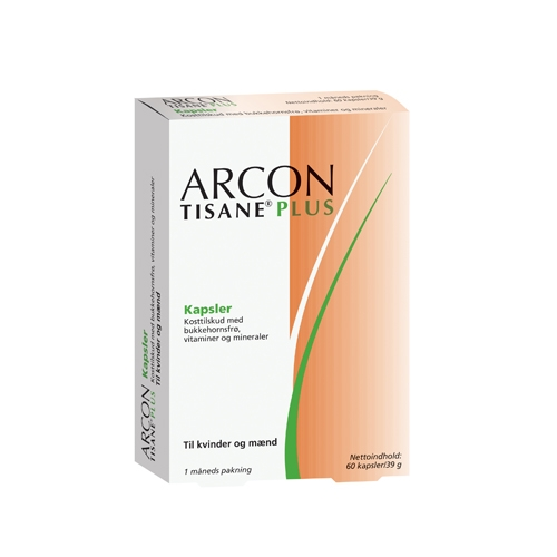 Image of Arcon Tisane Plus - 60 kapsler