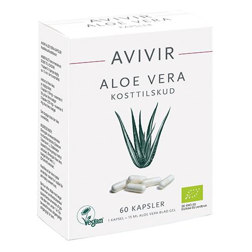 Image of   AVIVIR Aloe-Vera kapsler - 60 stk.