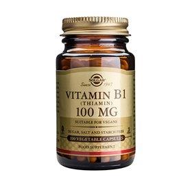 Image of   Solgar B1-vitamin 100 mg (Thiamin) (100 kaps)