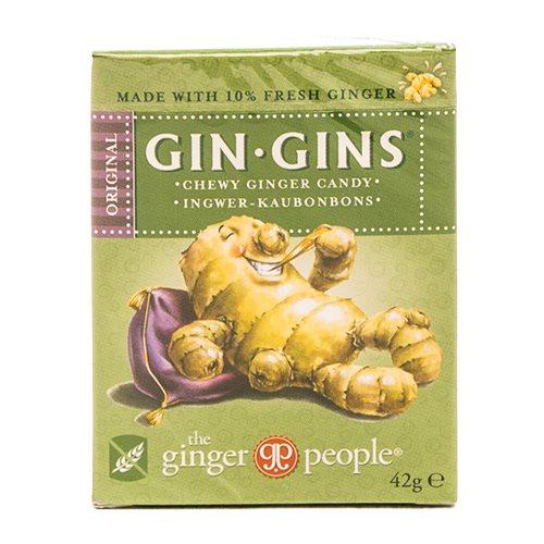 Image of   GIN-GINS Ingefærslik original - 42 gram