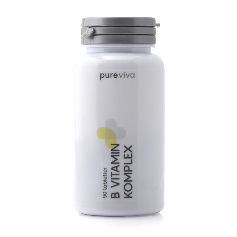 Image of   Pureviva B Vitamin Komplex (90 tab)