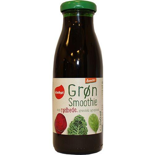 Image of Grøn Smoothie Rødbede grønkål & spinat Øko 250 ml