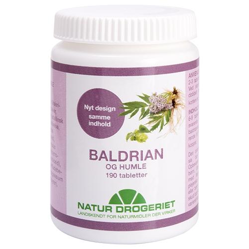Baldrian & Humle - 190 tabletter