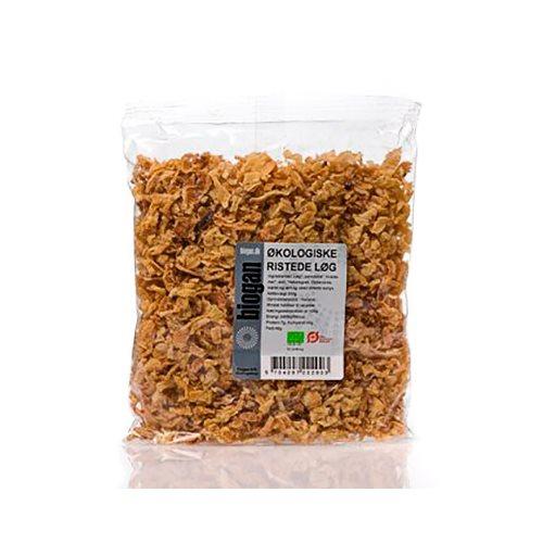 Ristede løg Økologiske fra Biogan 200 gram