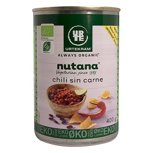 Chili sin carne fra Nutana Økologisk - 400 gram