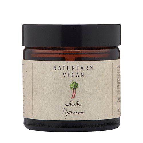 Image of   Naturfarm Natcreme Rabarber (60 ml)