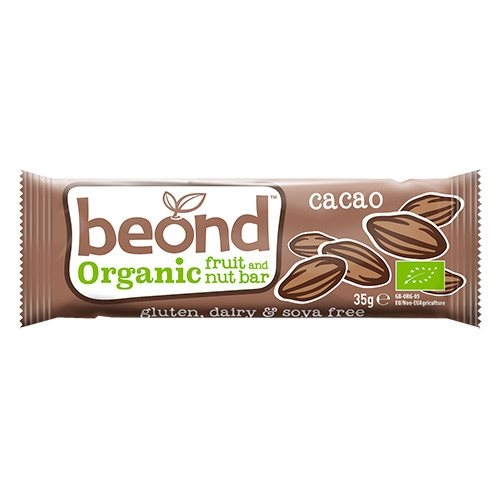 Image of Beond Organic Raw Choc Bar Øko - 35 gram