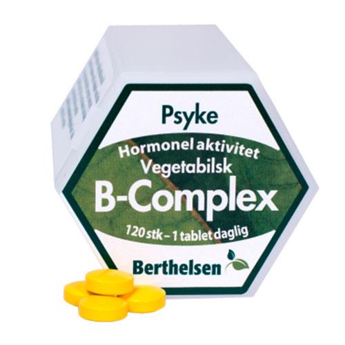 Image of   B-Complex Vegetabilsk fra Berthelsen - 120 tbl
