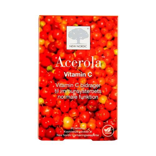New Nordic Acerola (30 tab)