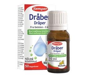 BioGaia Mælkesyrebakterier Dråber - 10 ml.