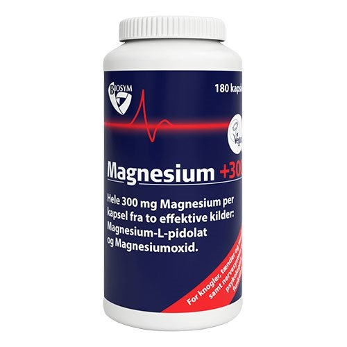 Image of Biosym Magnesium +300 (180 kapsler)