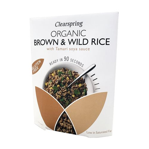 Image of Brune vilde ris med tamari Øko - 250 gram