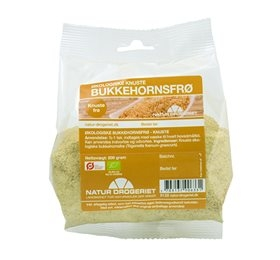 Image of   Bukkehornsfrø knuste økologiske - 200 gram