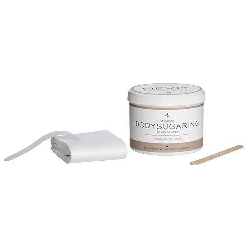 HEVI bodysugaring med strips spatler powder 375 gr