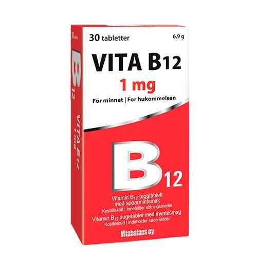 Image of   Vitabalans Vita B12 (30 tab)