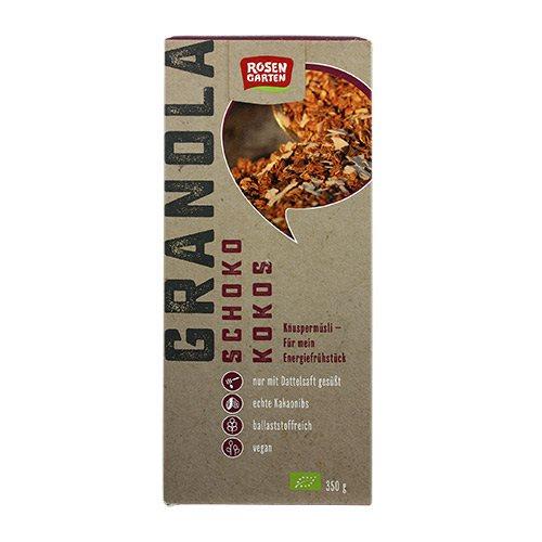 Crunchy Mysli m.mørk chokolade & kokosnød Ø